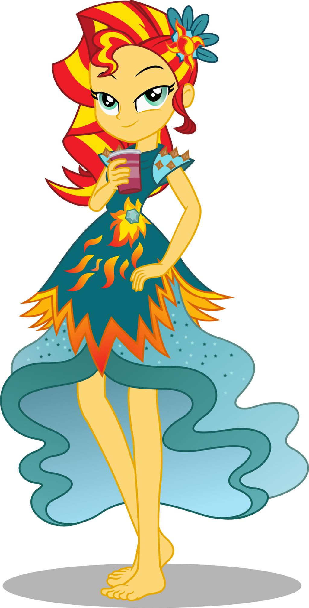 Sunset Shimmer - Legend of Everfree by seahawk270