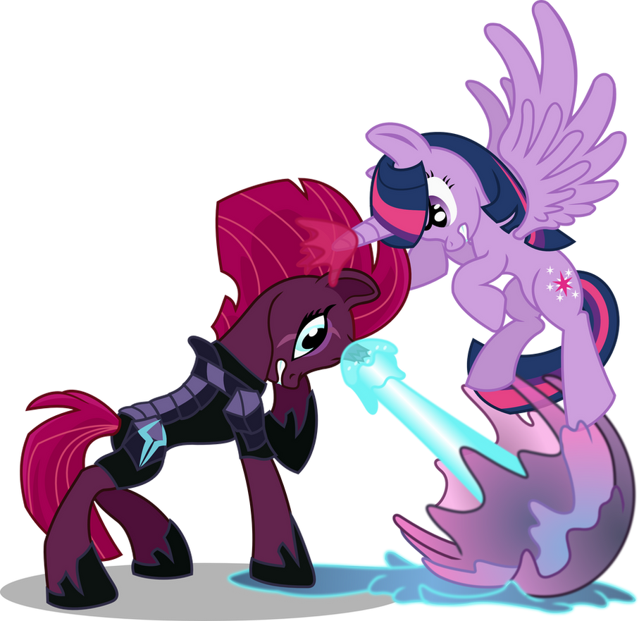 Tempest Shadow vs. Twilight Sparkle