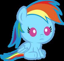 Baby Rainbow Dash by seahawk270
