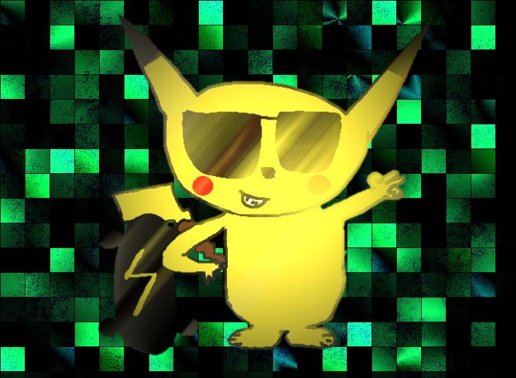 gangster pikachu - photo #48
