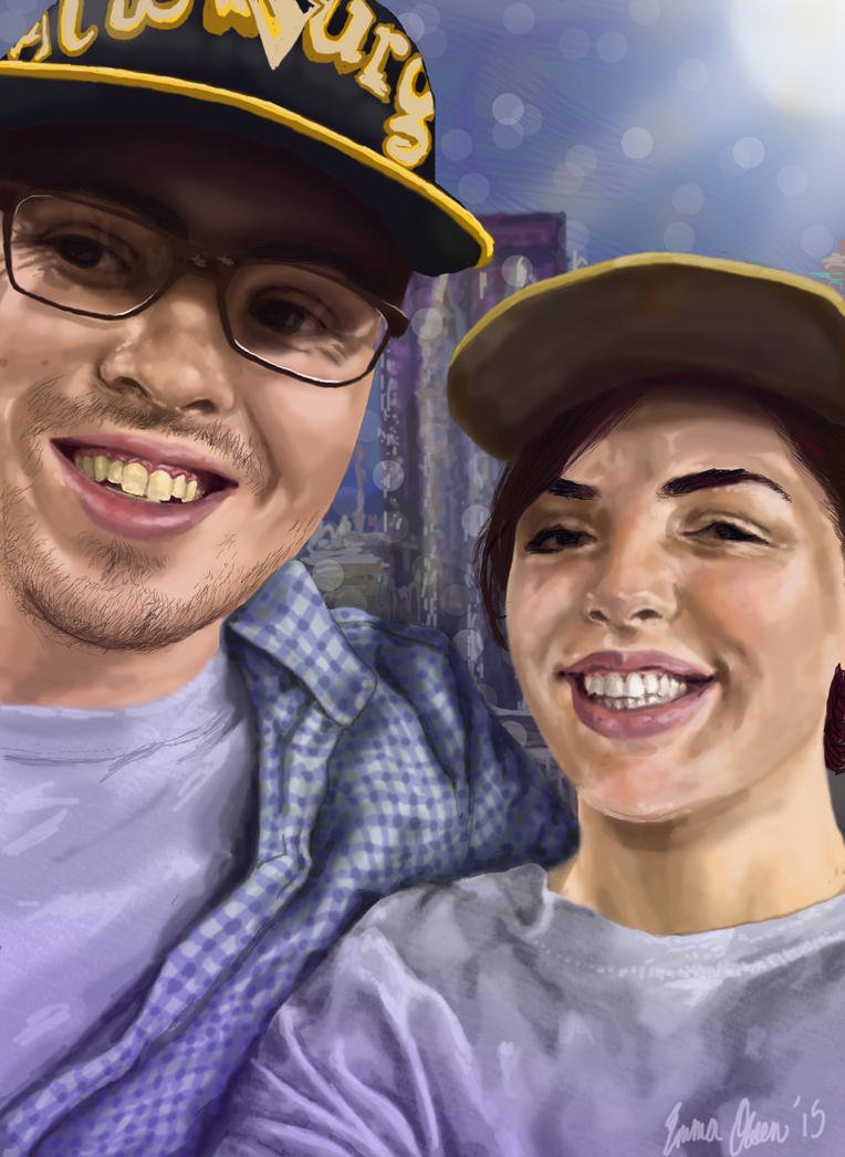 Jack and Jess (digital painting) by avaunt
