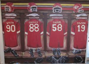 Kansas City Chiefs Mural by avaunt