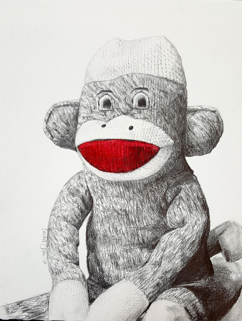 The Sock Monkey by avaunt