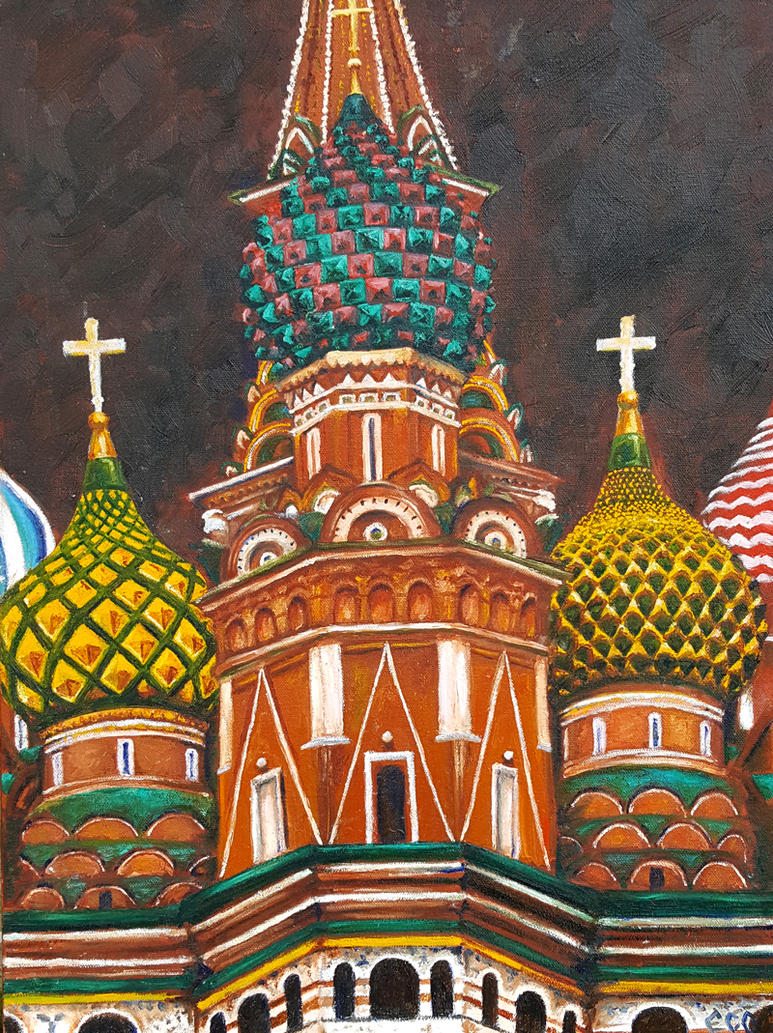 St. Basil's Cathedral by avaunt
