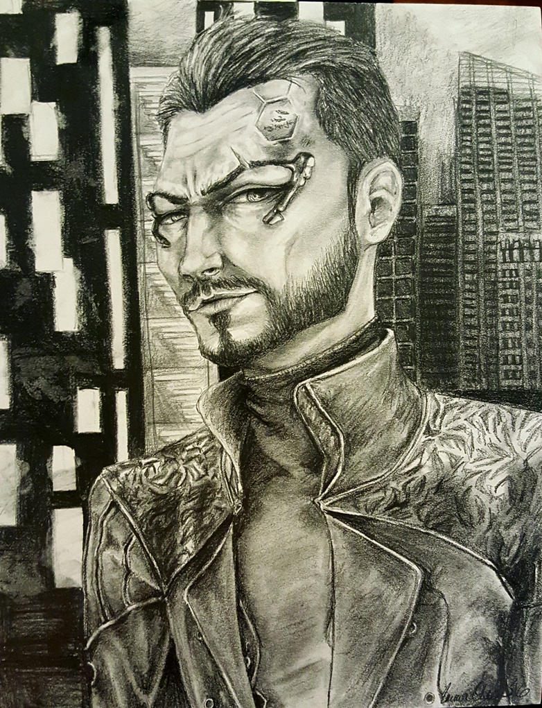 Adam Jensen by avaunt