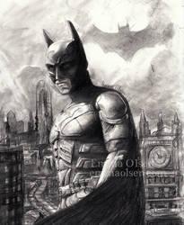 The Dark Knight by avaunt