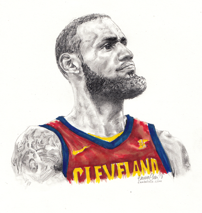 Lebron by avaunt