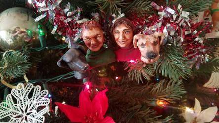 Christmas Family Ornament