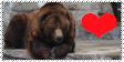 Bears Are Love Stamp by Karasu-no-Yami