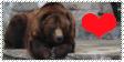 Bears Are Love Stamp by Karasu-no-Yami