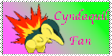 Cyndaquil Fan Stamp by Karasu-no-Yami