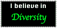 I Believe In Diversity Stamp by Karasu-no-Yami