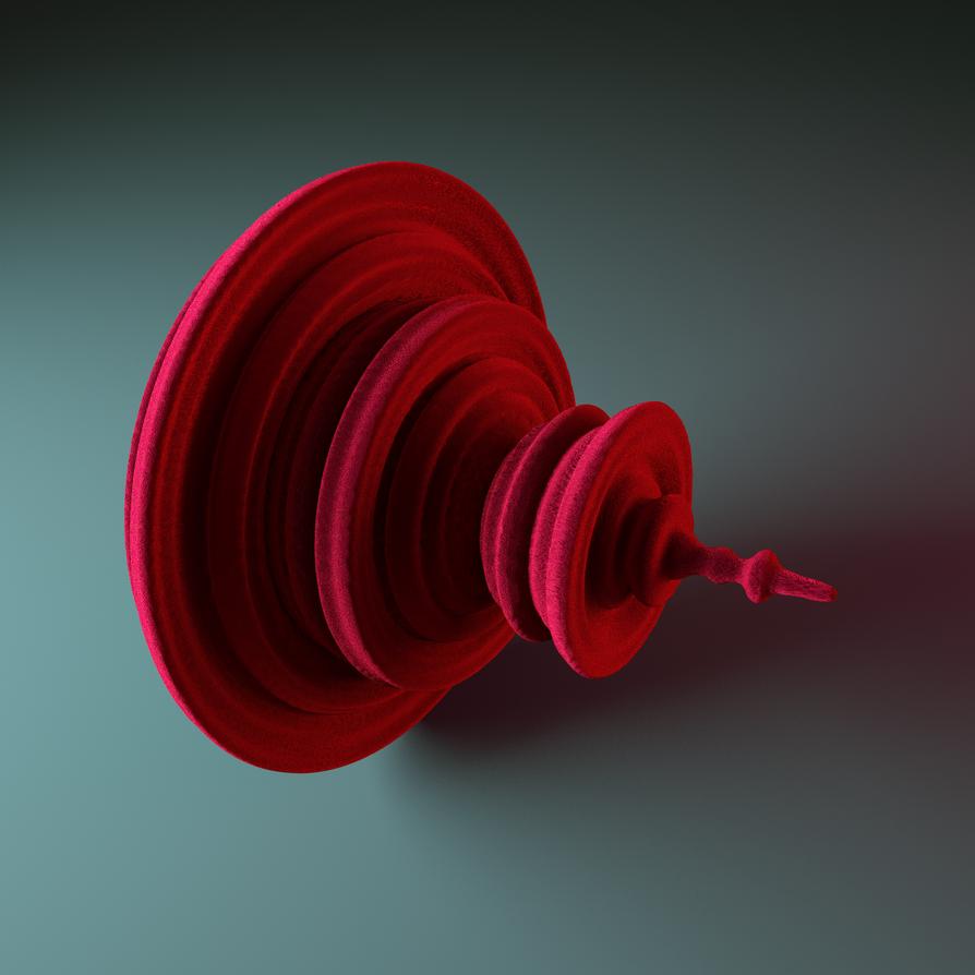 Red velvet quaternion by Fractalin