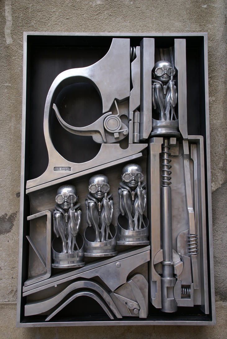 'Birth Machine' by H.R.Giger by HORSEKING on DeviantArt H.r. Giger Birth Machine
