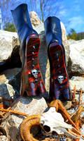 Infernal hoof boots - backside