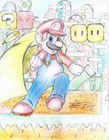 Mario Power-Ups!!! Mario Cape of Super Mario World by MeleevsBrawl