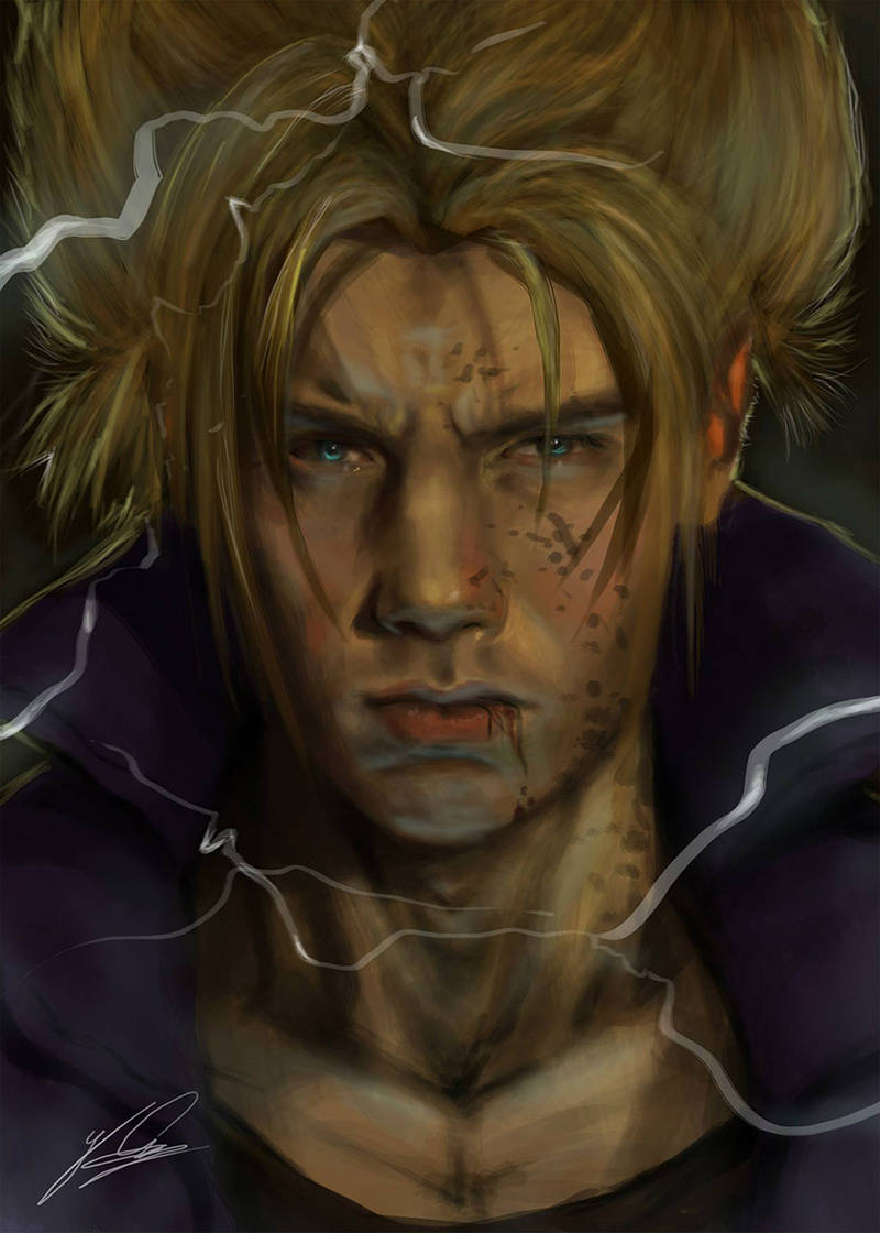 Trunks DBZ Portrait by Jay-Carpenter