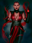 Mortal Kombat - Skarlet (unmasked)