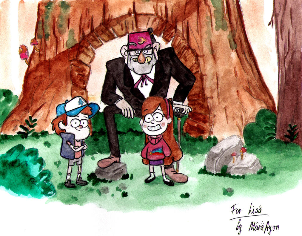Gravity Falls by AyvazyanMara