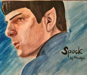 Spock by AyvazyanMara