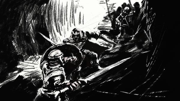 Sketch - Assault by Berien