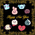 Happy New Year from BT21