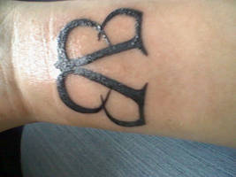 my tattoo of BVB by kitty20k