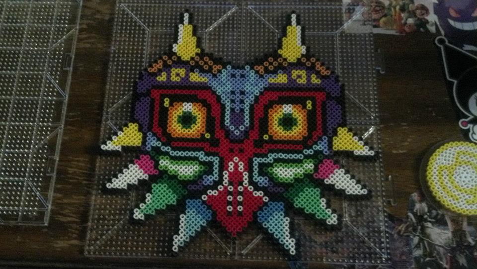 Majora's Mask Perler by hyliacupcake