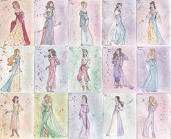 Narnian Fashions (2.0) by WalkingOnTheStars