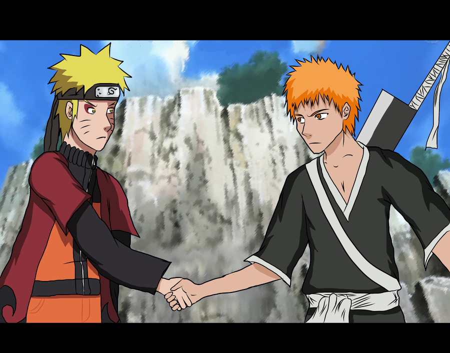 Naruto, Ichigo - Side by Side by O-KiD on DeviantArt