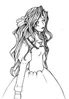 _.Lineart_AMG.Belldandy by infiniteFinality