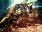 Great Horned Rat, deity of ruin