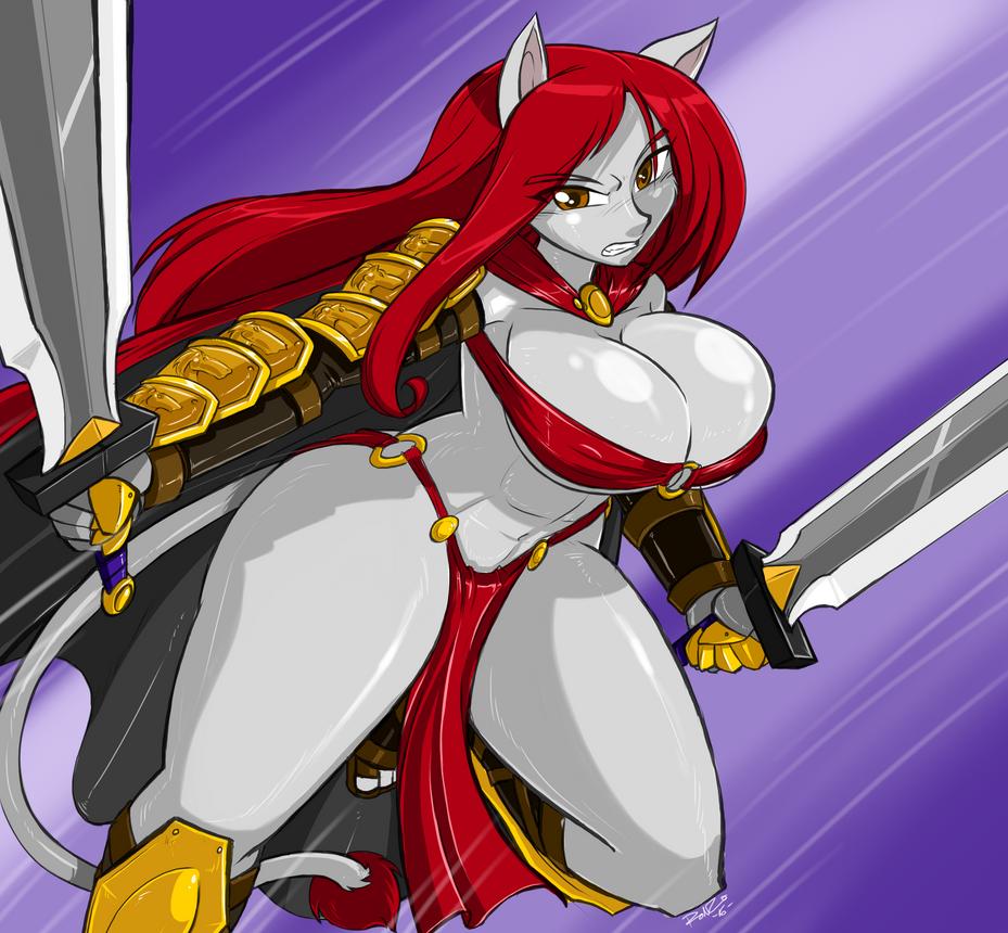 Leona quicksilver by antcow