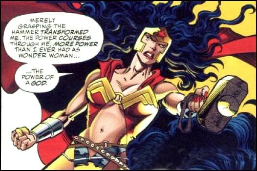 Wonder woman admits something.... by antcow