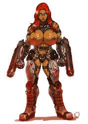 D.M.C. Slayer Io by antcow