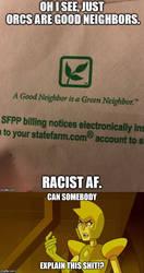 So racist