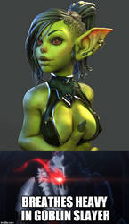 Goblin bewbes by antcow