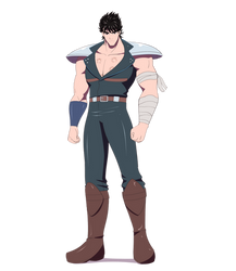 Kenshiro, man with seven scars