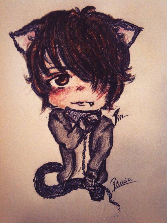 Cute cat boy by Patri02
