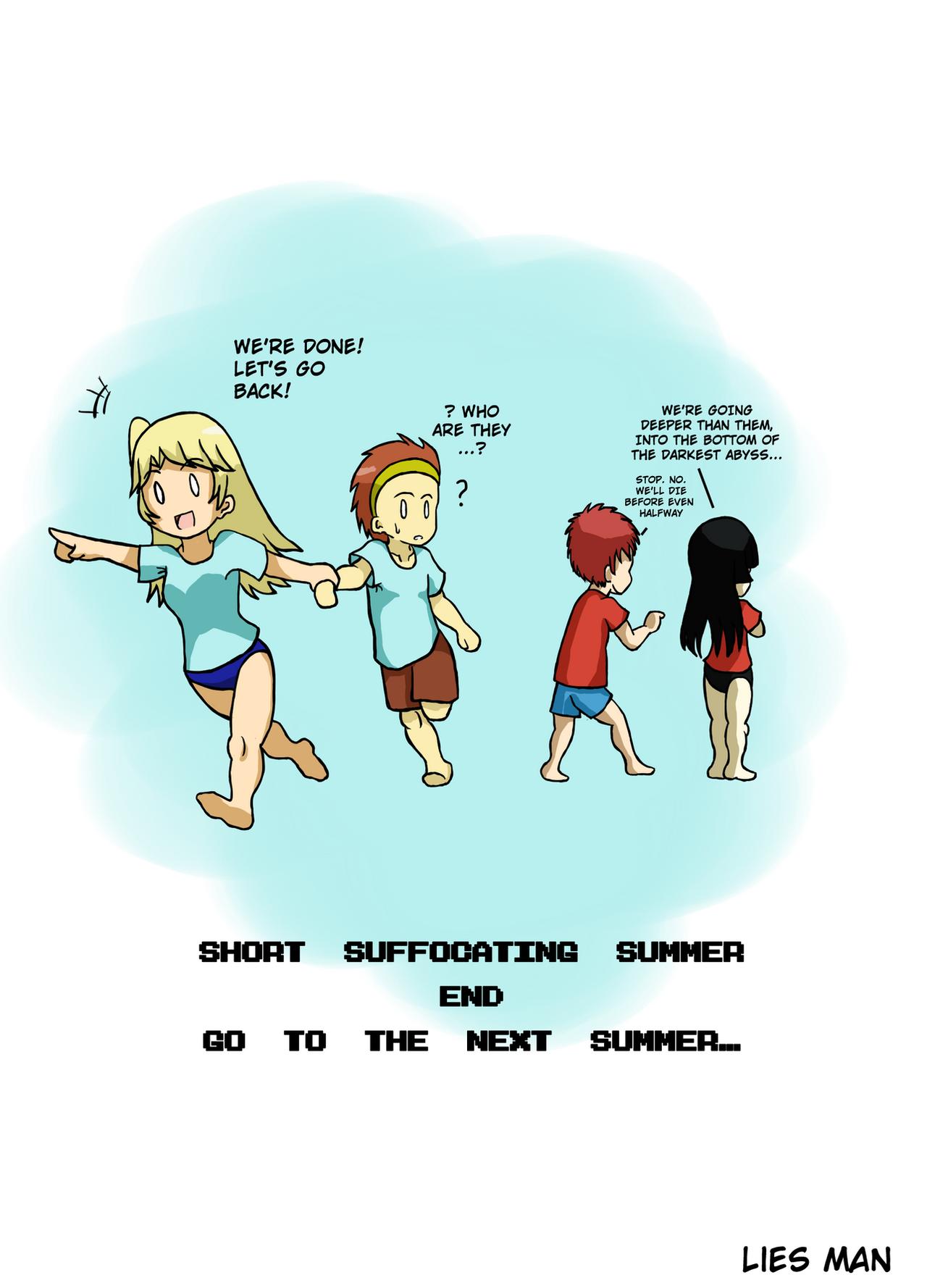 Short Suffocating Summer - Afterword by JimLiesman