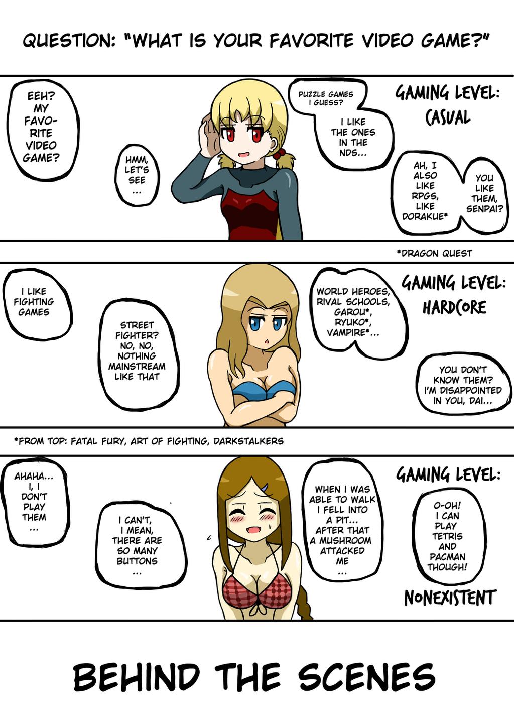 Nanjou and Kikkawa - 'Playing'... Extra Comic by JimLiesman