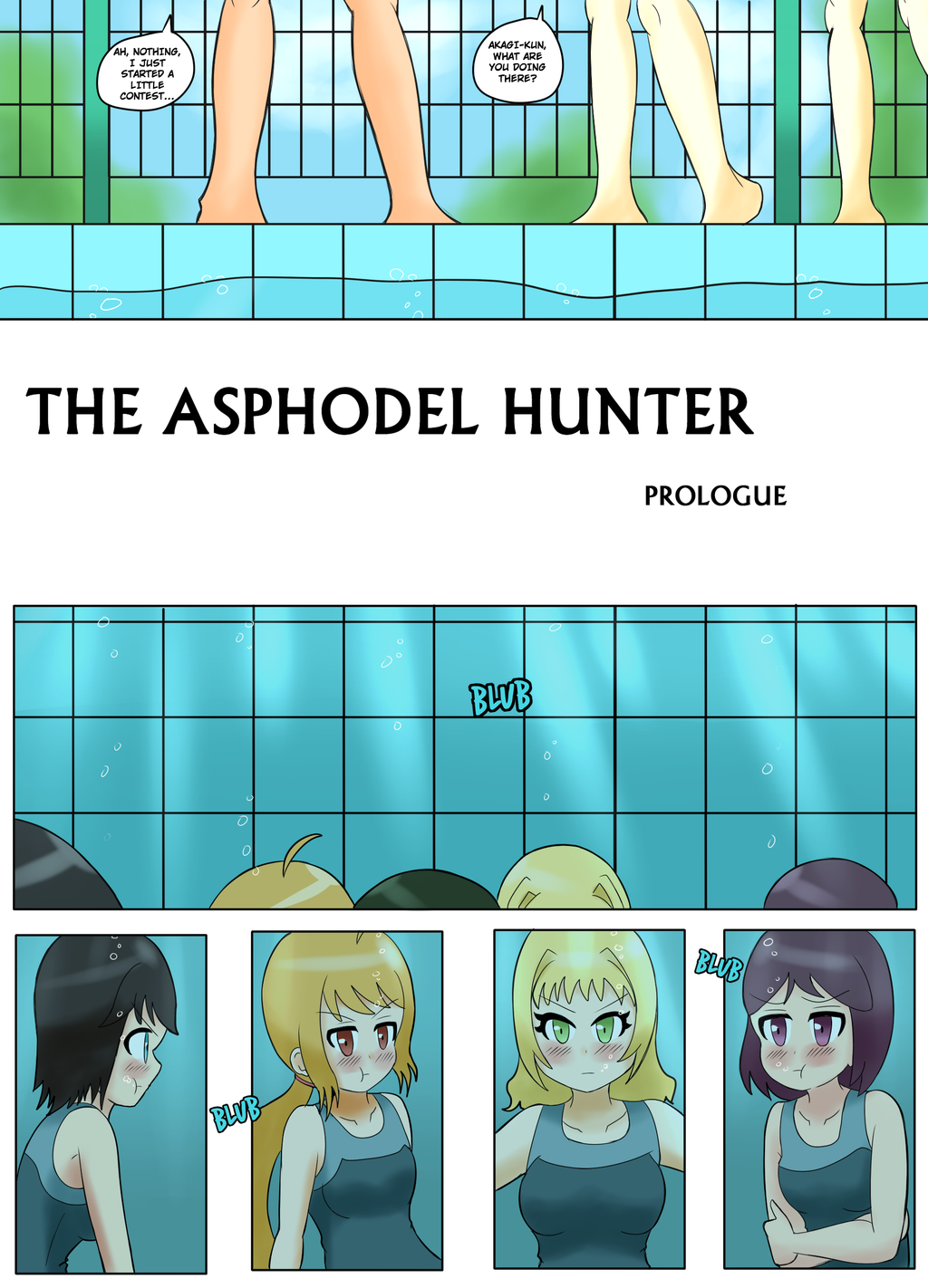 The Asphodel Hunter Prologue - Page 1 by JimLiesman