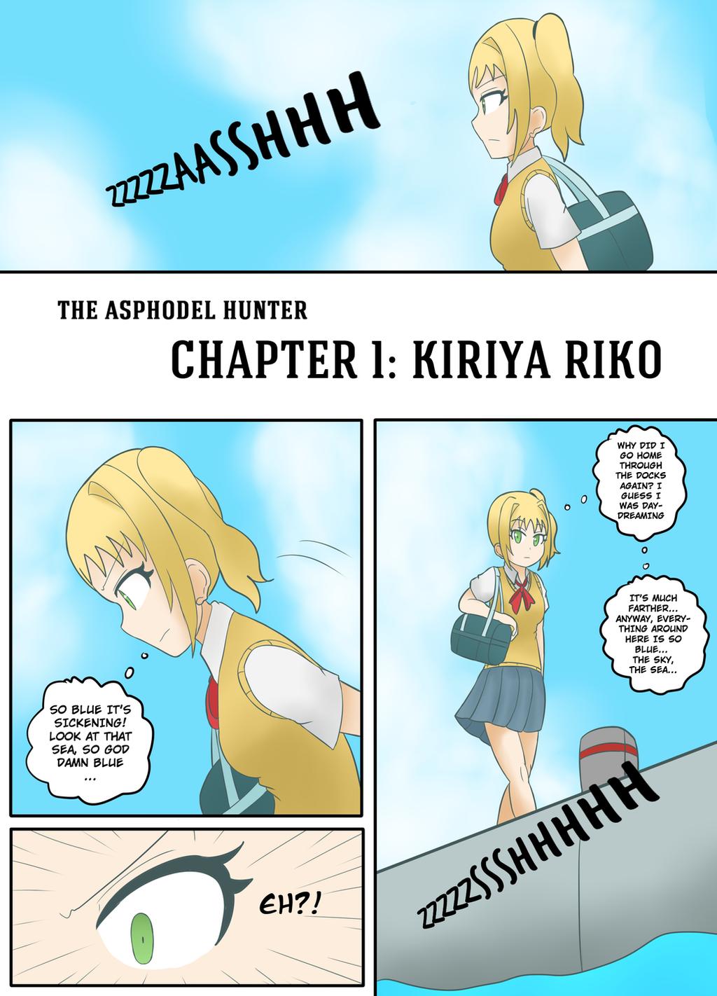 The Asphodel Hunter Chapter 1 - Page 1 by JimLiesman