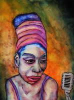 Nina Simone by resqben