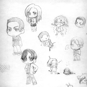 Heroes More CHIBIS up-mafer by Heroes-Fan-Club