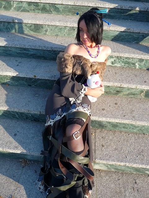 FFX - Lulu: A moment of rest by Miyazawa-Lulu