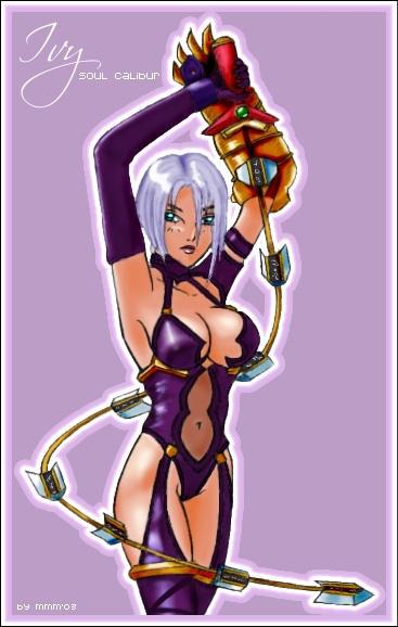 Soul Calibur: Ivy by Miyazawa-Lulu