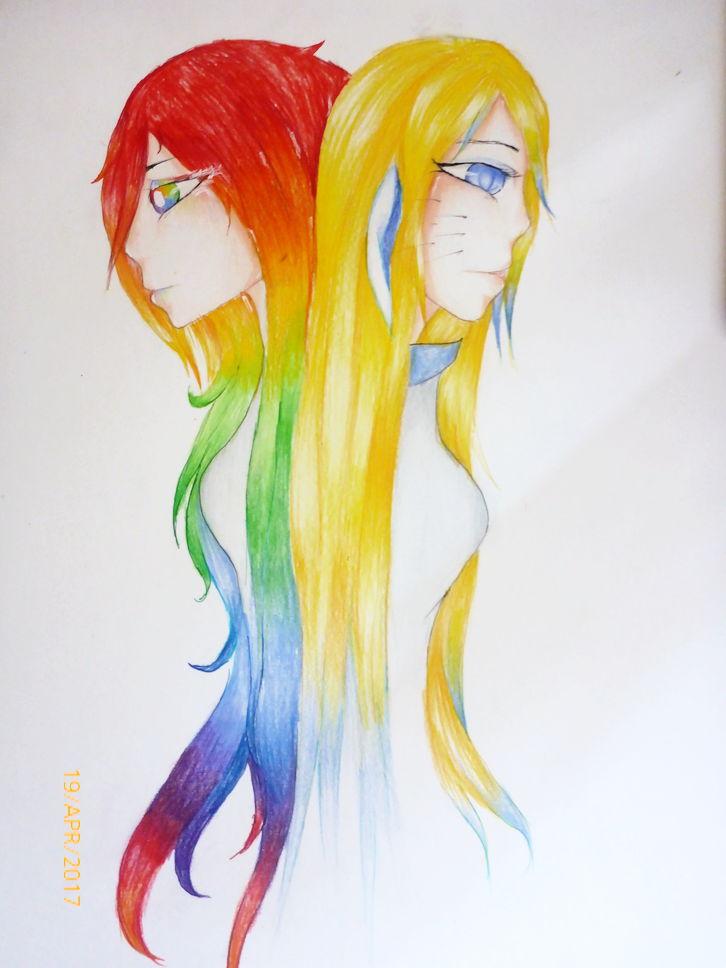 Rainbow Hair by Neofelies