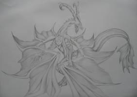Dragon by Guitha