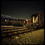 Night Photography - Railway